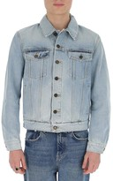 Saint Laurent Washed Buttoned Denim Jacket