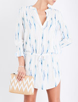 Heidi Klein Ravello woven tunic dress