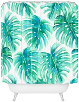 Deny Designs Jacqueline Maldonado Paradise Palms Shower Curtain