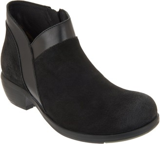 Fly London Suede Ankle Boots - Meba