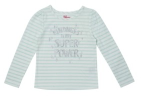 Epic Threads Toddler Girls Striped Long Sleeve Text Tee
