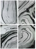 Uttermost Echos 4-Pc. Modern Abstract Wall Art