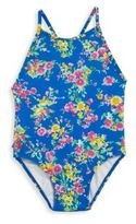 Ralph Lauren Baby's One-Piece Floral Swimsuit