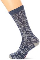 Fat Face Men's Linear Camper Socks,(Manufacturer Size:9.5-11)