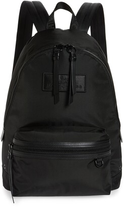 Marc Jacobs Large Leather Trim Backpack