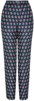 Diane von Furstenberg Leni Printed Silk Pant