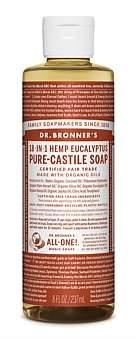 Dr. Bronner's Liquid Castile Soap 237Ml - Eucalyptus
