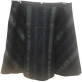 Sacai Luck Navy Skirt for Women