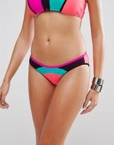 Body Glove Color Block Bikini Bottom