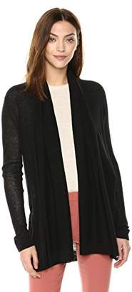 Theory Women's Long Sleeve Open Front Cardigan