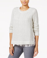 Sanctuary One-N-Done Layered-Look Sweater