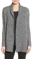 Chaus Two-Pocket Cotton Blend Cardigan