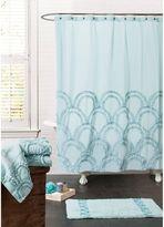 Bed Bath & Beyond Esme Spa 72-Inch x 72-Inch Shower Curtain in Blue