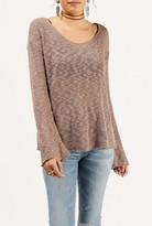 Azalea Loose Knit Lightweight Sweater
