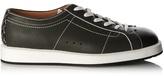 Bottega Veneta Block-colour leather trainers