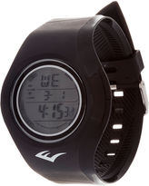 Everlast Black Digital Strap Watch