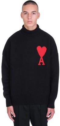 Ami Alexandre Mattiussi Knitwear In Black Wool