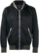 Diesel hooded anorak jacket