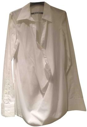 Dirk Bikkembergs White Cotton Top for Women