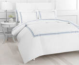 Thumbnail for your product : Melange Home Winsley Embroidered Duvet Set