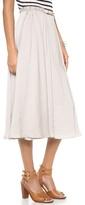 Halston Belted Skirt
