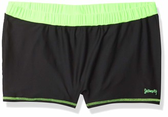 """Intensity 10 Intensity Womens Fashion Ace - 2 """" Volleyball Compression Shorts"""