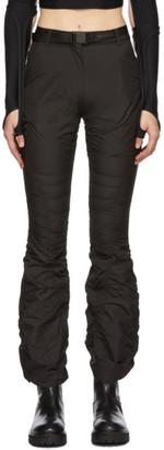 Hyein Seo Black Shirring Trousers