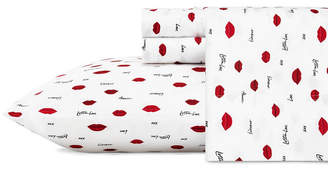 Betsey Johnson Printed Full Sheet Set Bedding