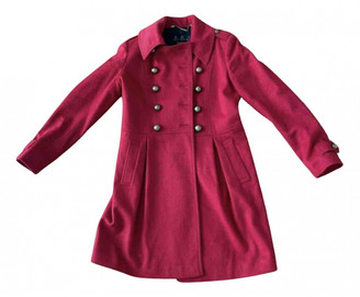 Barbour Red Wool Coats