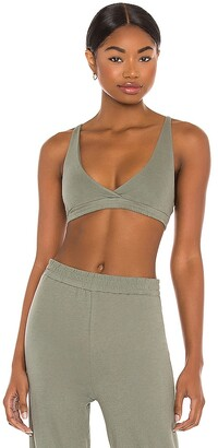 Only Hearts Organic Cotton High Point Bralette