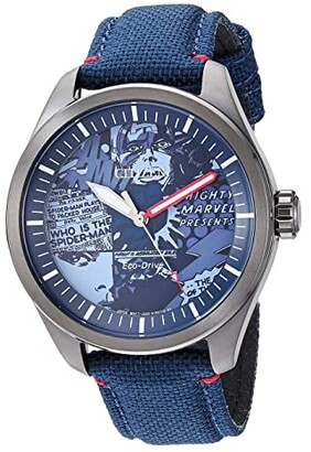 Citizen Marvel Heroes AW2037-04W (Blue) Watches