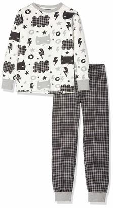 Brums Boy's Pigiama Felpa Garzata Pyjama Set