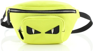 Fendi Monster Waist Bag Leather