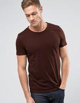 Selected T-Shirt in Marl with Pocket