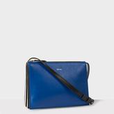 Paul Smith Women's Blue 'Concertina' Cross-Body Bag