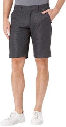 Travis Mathew Connected Shorts (Grey Pinstripe) Men's Shorts