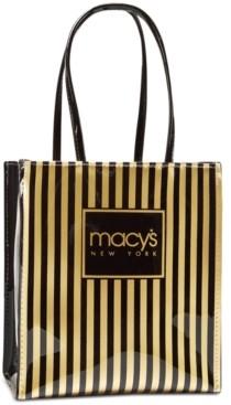 Dani Accessories Macy's Thin Striped Tote, Created for Macy's