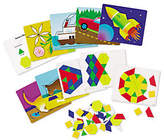 Learning Resources Magnetic Pattern Block Activity Set by LearningResources