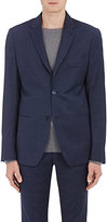 Barneys New York MEN'S NAILHEAD TWO-BUTTON SPORTCOAT