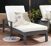 Pottery Barn Metal Chaise