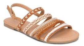 OLIVIA MILLER Ocoee Multi Boho Strap Buckle Strap Sandals Women's Shoes