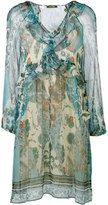Roberto Cavalli Potpourri printed dress - women - Silk/Polyester - 38