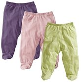 Baby Soy O Soy 3-piece Footie Pants Set for Girls, 6-12M