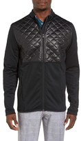 adidas Men's Climaheat Quilt Panel Performance Zip Jacket