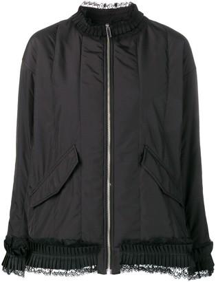 MM6 MAISON MARGIELA Lace Trim Jacket