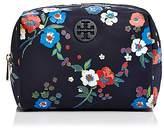 Tory Burch Brigitte Floral Cosmetics Case