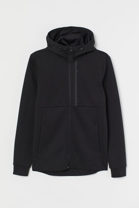 H&M Regular Fit Track Jacket - Black