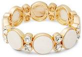 RJ Graziano Embellished Stretch Bracelet