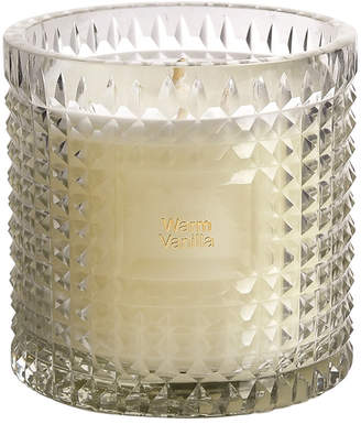 clear Bidk Home Bidkhome Warm Vanilla Etched Glass Scented Candle