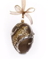 Jay Strongwater Gilded Safari Egg Ornament